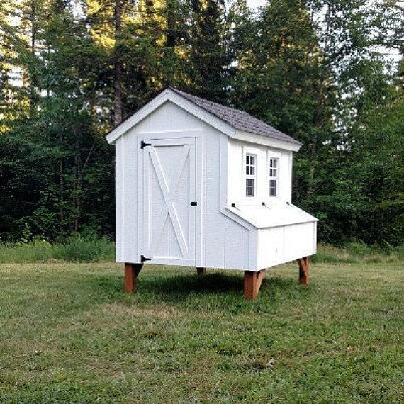 5'X6' Chicken Coop Plans PDF File Instant Download by CoopExpert