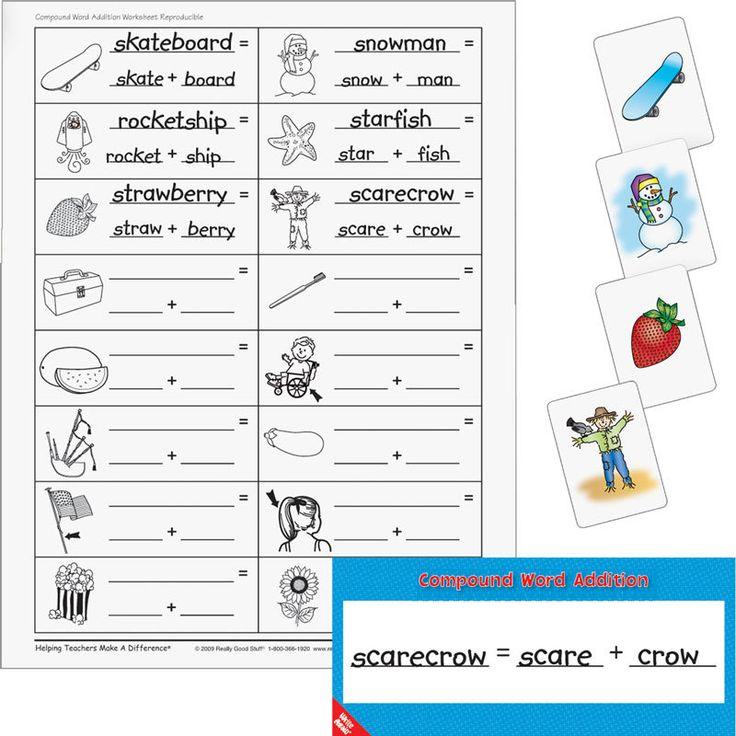 Polysyllabic word list | Home Compound Word Addition Literacy Center ...