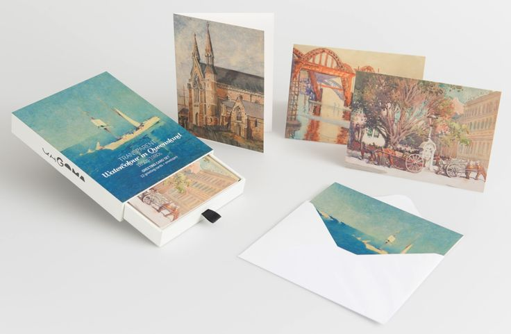 Queensland Watercolours Greeting Card Box // The beauty and diversity of Queensland watercolour painting is celebrated in this delightful set of 12 greeting cards // Available in store and online