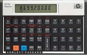 Calculadora Financiera HP 12C Platinum para PC