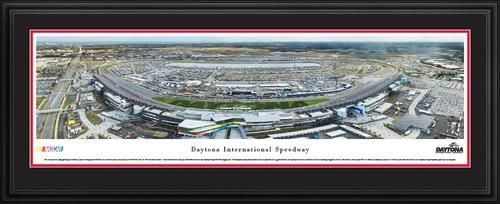 Daytona International Speedway Panoramic Picture Deluxe Matted Frame