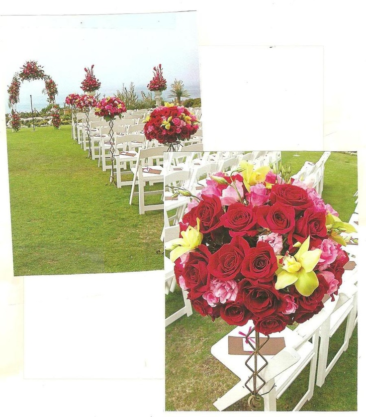 Red Wedding Arch Decoration Ideas: 17 Best Images About Altars, Arches & Arbors On Pinterest