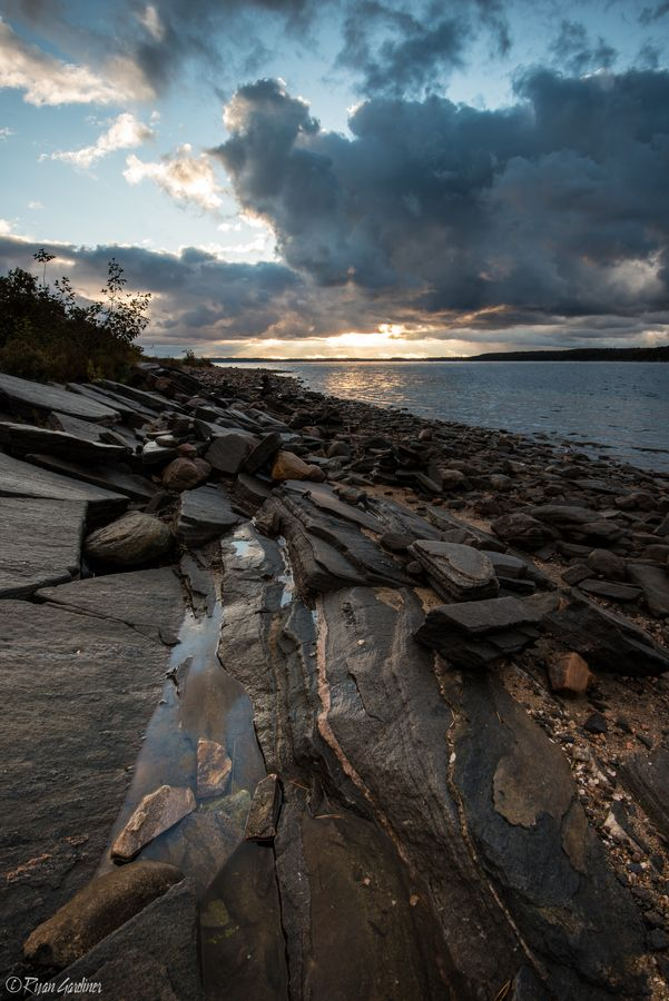 Sunrise, Killbear Provincial Park, Georgian Bay, Ontario, Canada | by Ryan Gardiner, via 500px