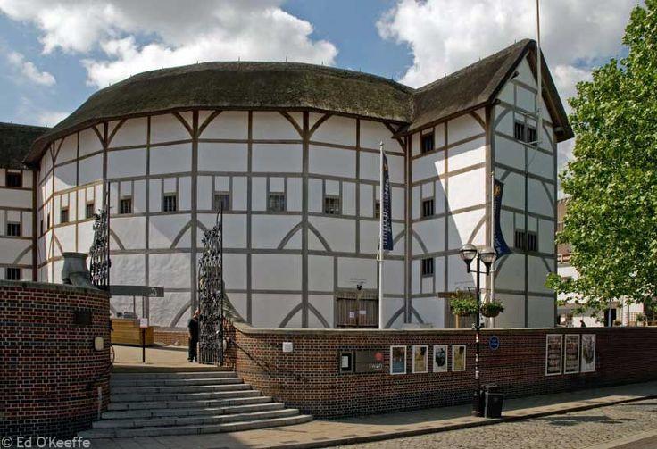 Shakespears' Globe theatre in London