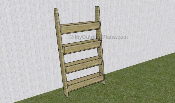 Tiered Garden Raised Bed Plans | MyOutdoorPlans | Free ...