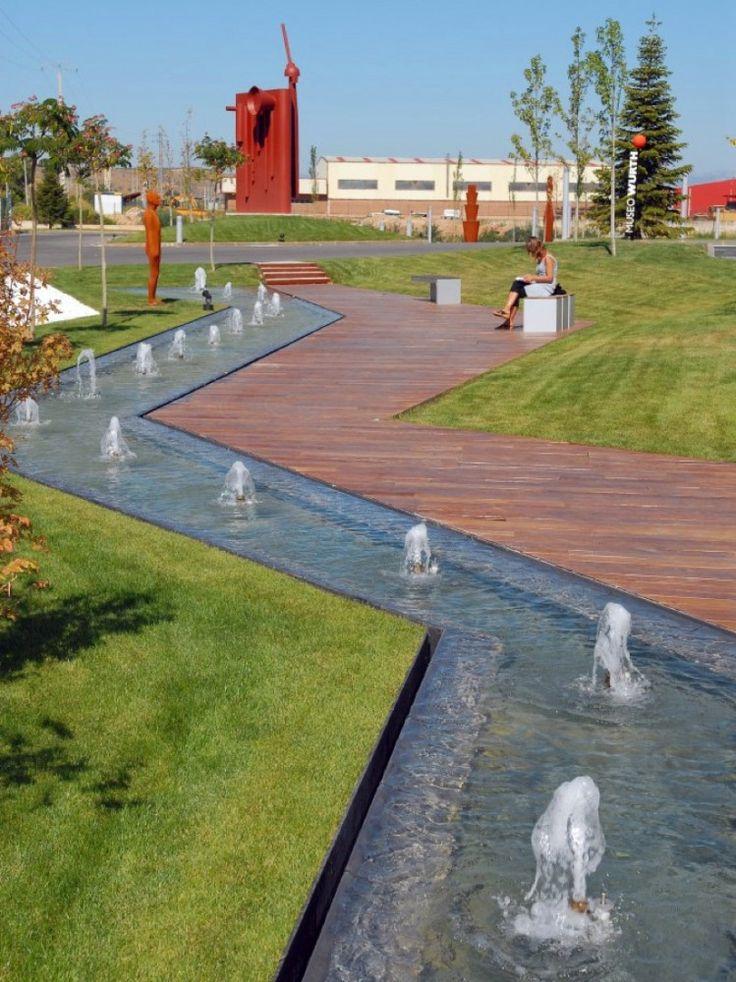 WATER Würth La Rioja Museum Gardens / Dom Arquitectura
