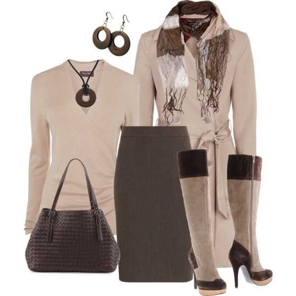 A fashion look from November 2013 featuring Phase Eight sweaters, Escada Sport coats e Planet skirts. Browse and shop related looks.