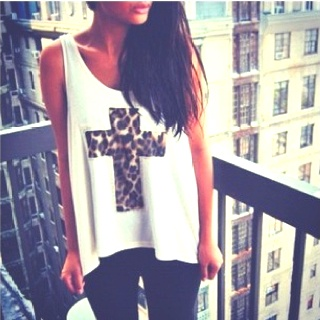 Cheetahs, Shirts, Clothing, Leopards Prints, Animal Prints, Crosses, Tanks, Style Fashion, Dreams Closets