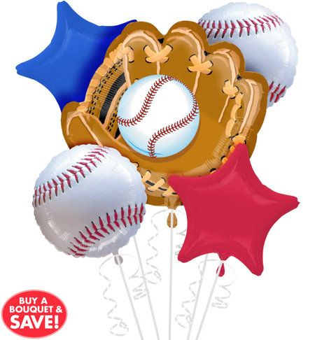 Must have ballons! Baseball Party Supplies - Party City