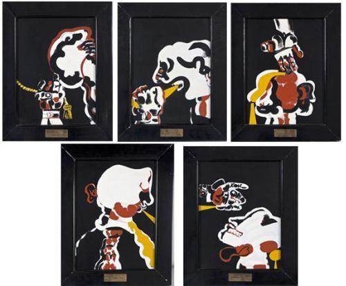 Robert Hodgins The back suite (x5) 2013-06 / SW / 224.000 ZAR