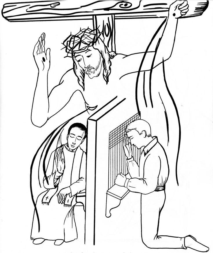 11 best Sacrament Coloring Pages images on Pinterest   School, 7 ...