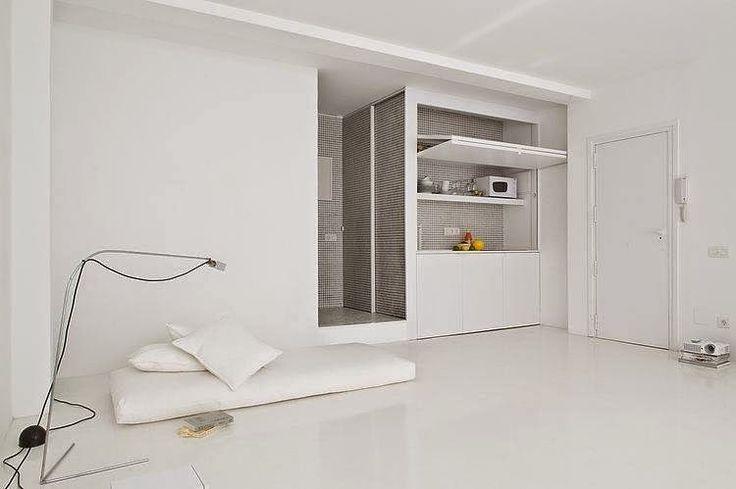 Minimalistyczne mieszkanie. Hiszpania. | Tanie Wnętrza PL projekty on-line