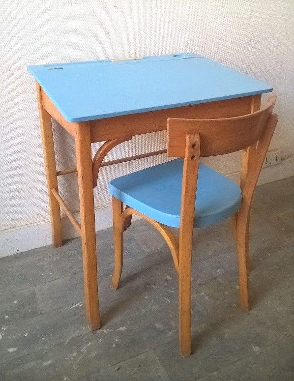 Pupitre Baumann vintage www.monpetitmeuble.com