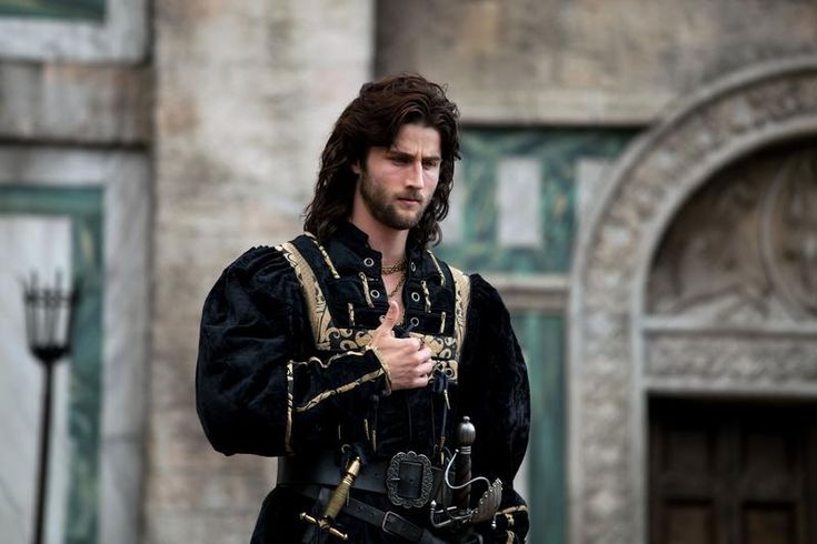 Mark Ryder Borgia | Cesare Borgia dans la saison 2 de Borgia, incarné par Mark Ryder