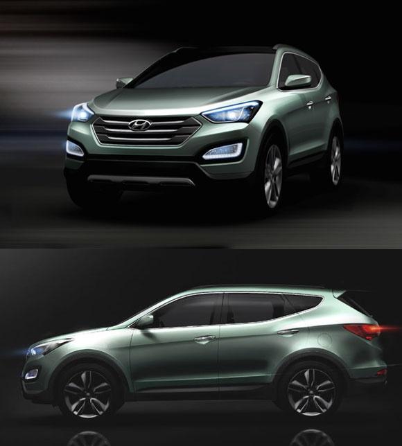 New Santa Fe, Hyundai http://www.glennhyundai.com/hyundai-santa-fe-cars-lexington