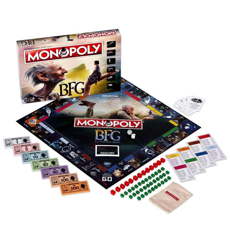 Roald Dahl setzen die BFG-Monopoly-Spiel Feiern Sie die Veröffentlichung des brandneuen BFG-Films mit diesem fantabulous Monopoly-Spiel-Set! mit Ikonen aus dem Film, das ist eine wunderbare Entdeckung für jede Roald Dahl-Fans! http://www.MightGet.com/february-2017-3/roald-dahl-setzen-die-bfg-monopoly-spiel.asp