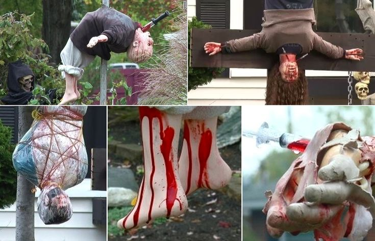 Totally grim or just a scary pomp? Parma Halloween display creates controversy