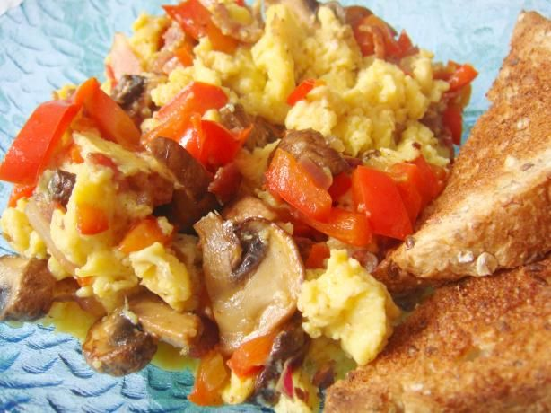 Bakinbaby's Egg & Mushroom Breakfast recipe!