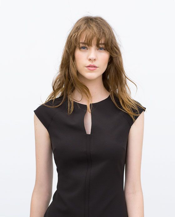 Image 2 of TUBE DRESS WITH RAGLAN SLEEVES from Zara