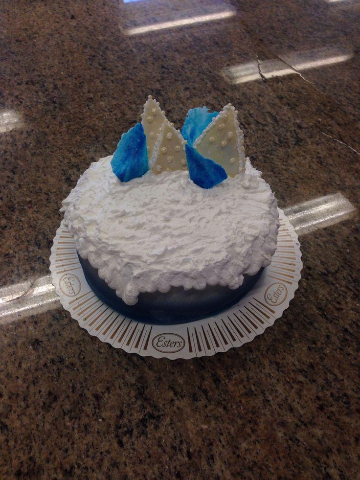 Början på frost tårta - HT 15