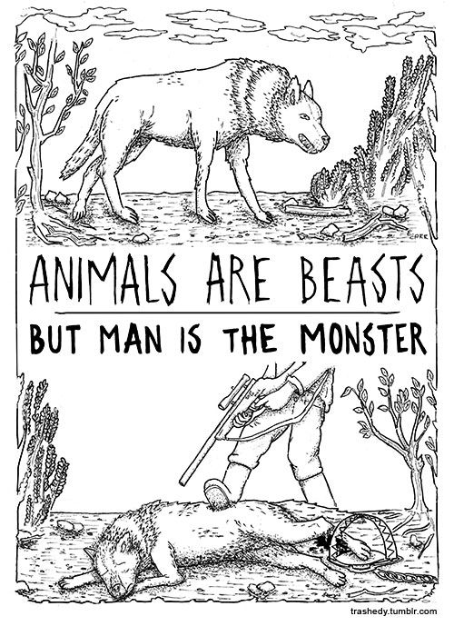 Man Is The Monster (2015) By Edwina Carr