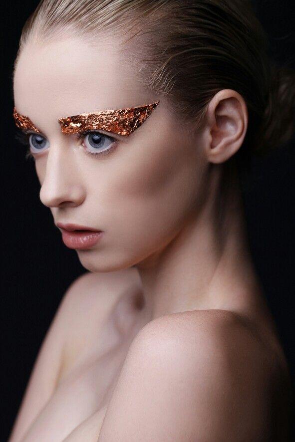 makeup clare mac photography cake creative copper makeup