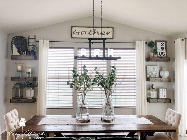 Grey Birch Designs Diy Floating Shelves Dinning Room Shelves Dining Room Corner Floating Shelves