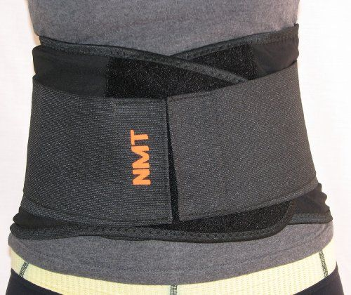 """""""NMT Lower Back Brace"""" ~ Pain Relief ~ Lumbar Support Belt ~ Medical Device, Physical Therapy ~ Posture Corrector ~ Healthcare, Osteoarthritis, Scoliosis ~ Size """"XXL"""" Waist 40"""" (102cm) to 50"""" (127cm)"""