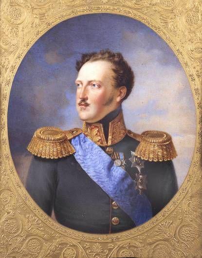 Portret van Tsaar Nicolaas I