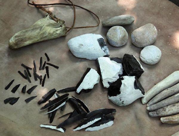 A #flint #reconstructions #State #Archaeological #Museum #Warsaw #PMA #Archaeology #archeologia #muzeum #zabytki #wystawa #Janisławice #mezolit #Mesolithic #Prehistoric #Hunter
