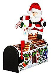 18″ Santa Visiting Magnetic Mailbox Cover