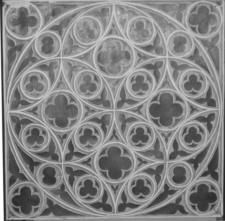 Paul Leopold - Gothic tracery