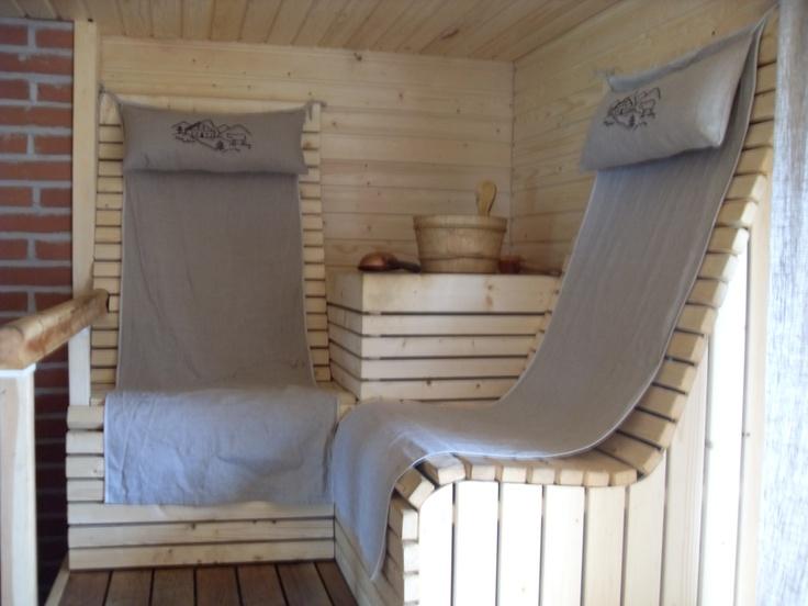 Sauna- towel hooks