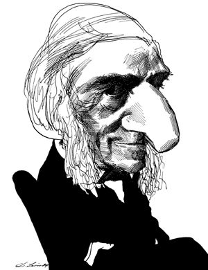 the life and writing career of ralph waldo emerson Ralph waldo emerson  would you leave the young child to the mad career of his own passions and whimsies,  reading, writing and arithmetic in order.