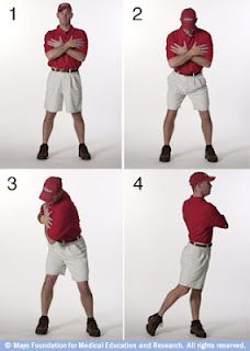 Golfers who want to begin an exercise program that helps their golf game should choose exercises that are specifically beneficial to an efficient golf swing.   The core is a critical area for the golfer. Your core range of motion dictates how big a backswing you'll be able to make, resulting in a higher level of clubhead speed and distance.