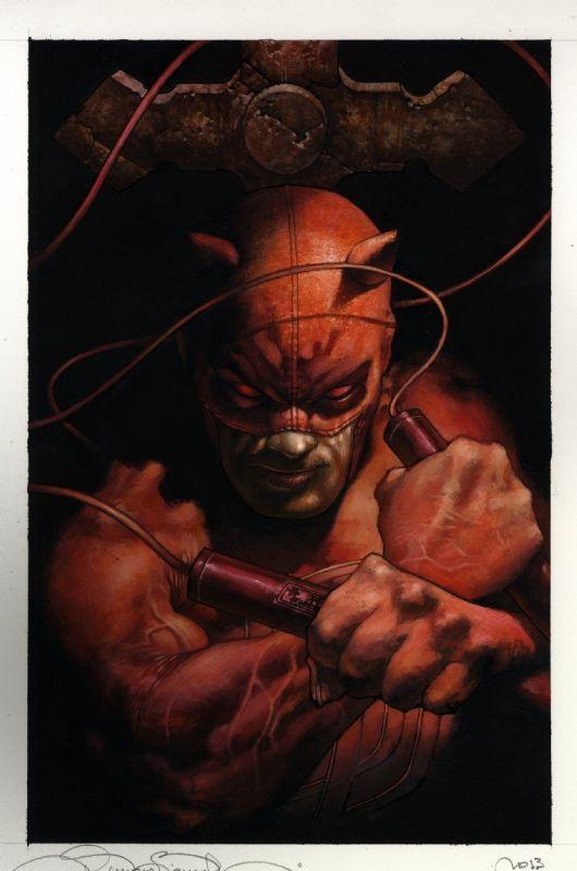 Daredevil by Simone Bianchi