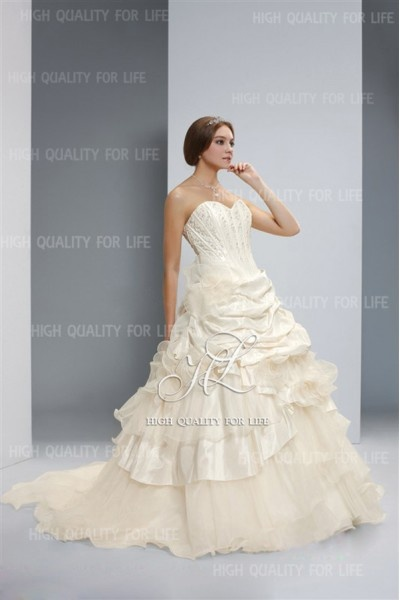 A-line White Sweetheart Floor-length Taffeta Wedding Dress wep33  http://www.mydresspro.co.uk/13-wedding-dresses