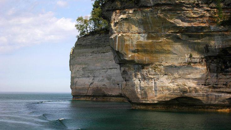 Ocean Cliff Hd Beach Wallpapers 1080p HD Pic