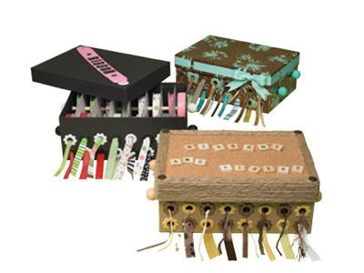 Photo Box Ribbon Holder - Keep all your ribbons untangled and organized! Brilliant!