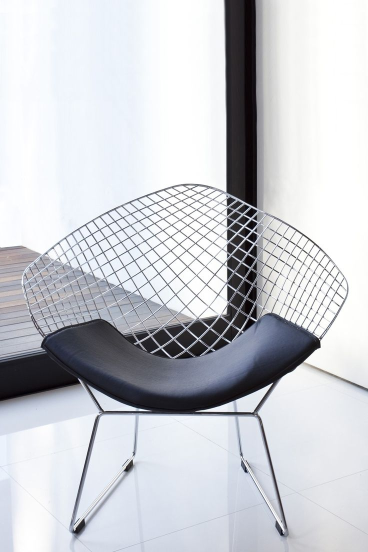 Galaxy Silver Wire Lounge Chair