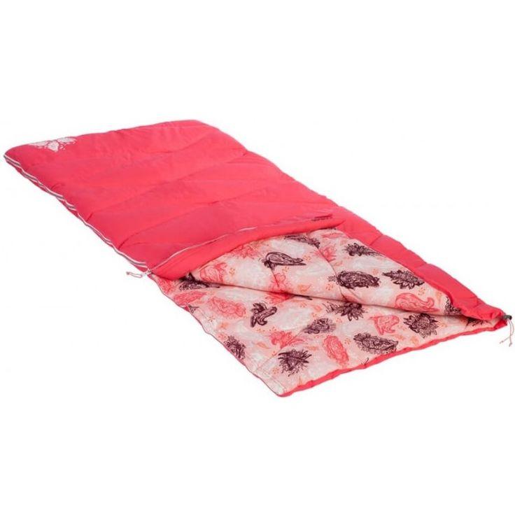 Nomad SLEEPYbeauty kinderslaapzak  De SLEEPYbeauty is een schattige kinderslaapzak geschikt voor kinderen tot 145 m. Het dekenmodel heeft een zachte katoenen voering met 3D-Polarshield vulling. Met een comforttemperatuur van 4C (jongens) en 8C (meisjes) is hij geschikt van het voor- tot het najaar. Bij warme temperaturen kan de tweerichtingsrits worden geopend zodat er meer ventilatie mogelijk is.  EUR 52.95  Meer informatie