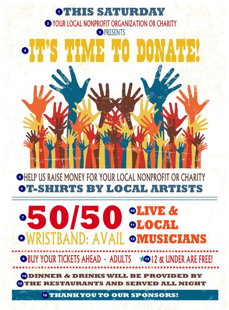 fundraiser raffle flyer