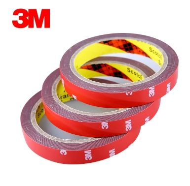 10x 8mm*3M 3M Double Sided Acrylic Foam Tape with Strong Glue Sticky for Automobile Car Truck awning Attachment Marble Ceramics