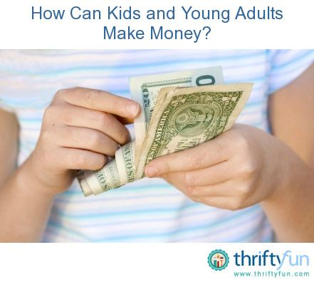 This is a guide about how can kids and young adults make money? Children and young adults often have difficulty finding ways to make some money for things they would like to buy or for savings.