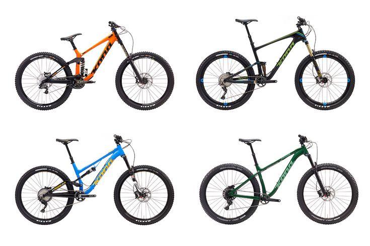2017 Kona Bikes