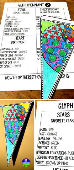 """""""A glyph?"""" I asked myself 2 days ago. """"What is a GLYPH?"""" I asked some friends and one of them knew. """"It's like one of those things where kids color based on things they like, like they'd color the stars yellow if their favorite class is Art."""" """"Oh I see!"""" Glyphs are COOL!"""