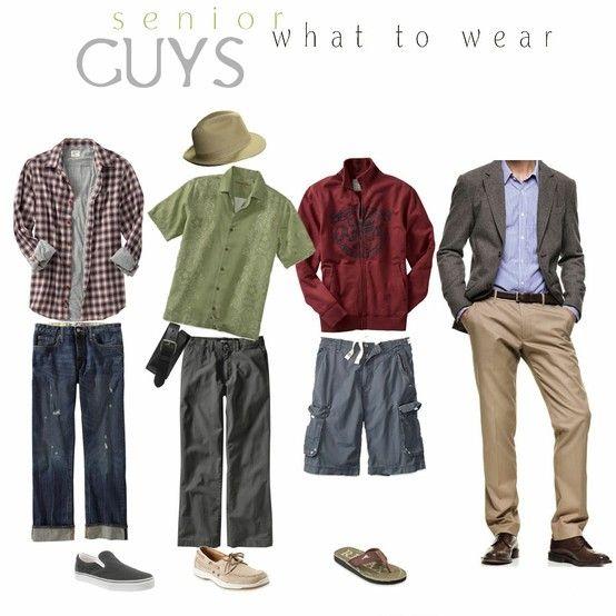 Senior guy What to Wear