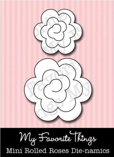 Die-namics Mini Rolled Roses