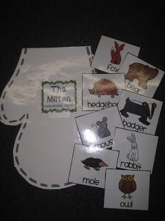 The Mitten Sequencing/Retell