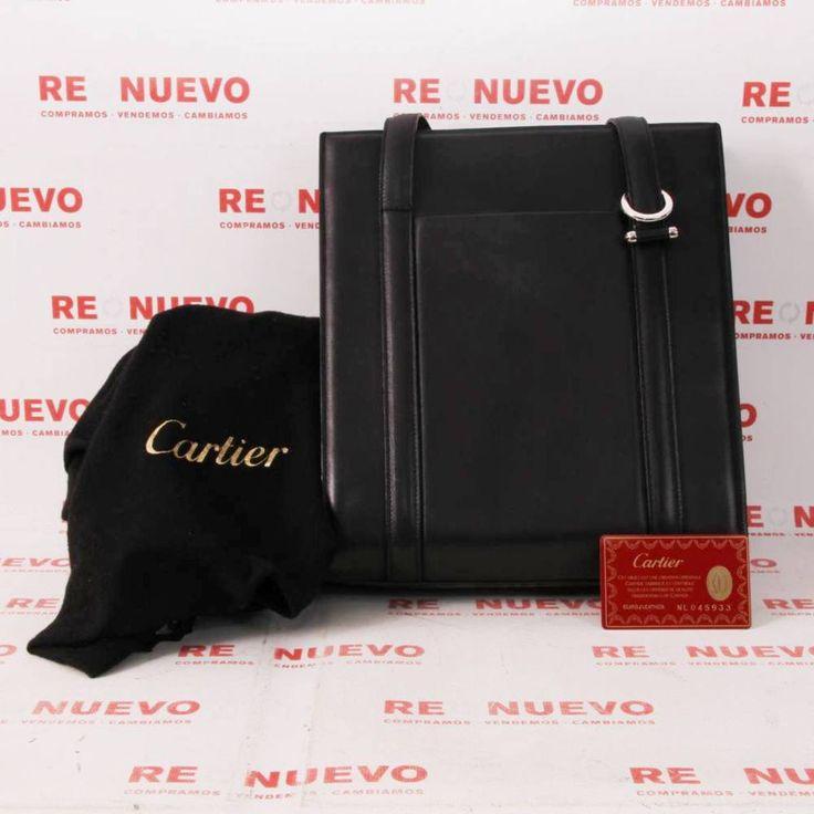 Comprar Bolso CARTIER negro de segunda mano E296087 | Tienda online de segunda mano #bolso #cartier #lujo #segundamano